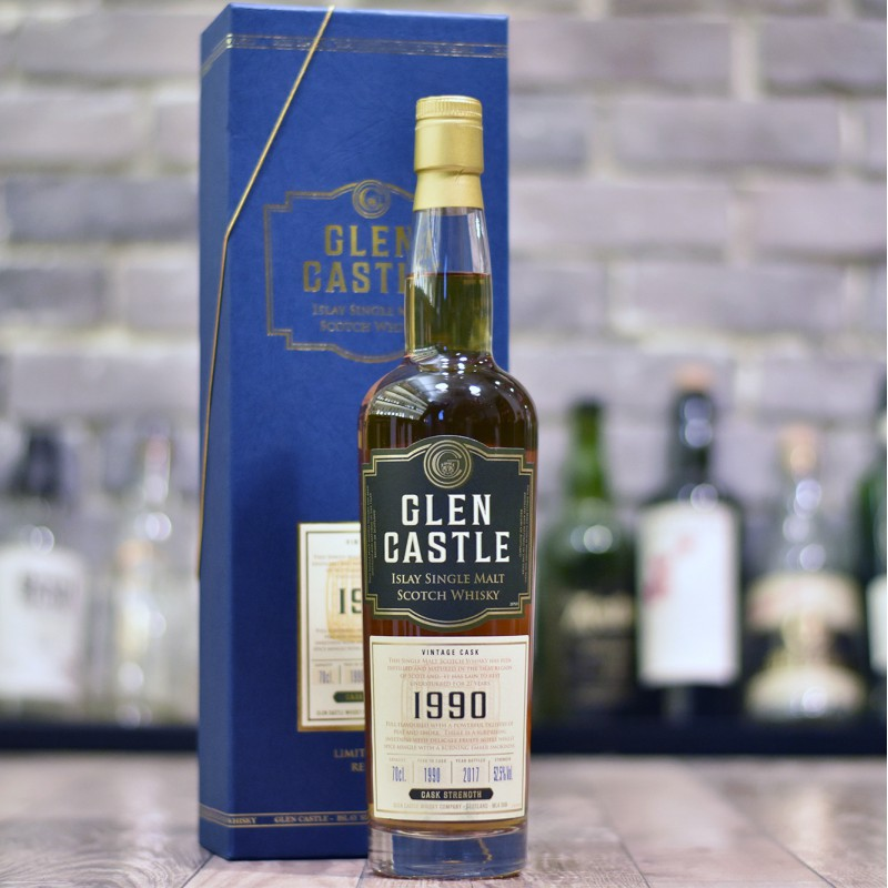 Glen Castle Islay 27 Year Old 1990 The Rare Malt