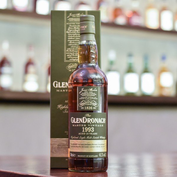 Glendronach 25 Year Old 1993 Master Vintage