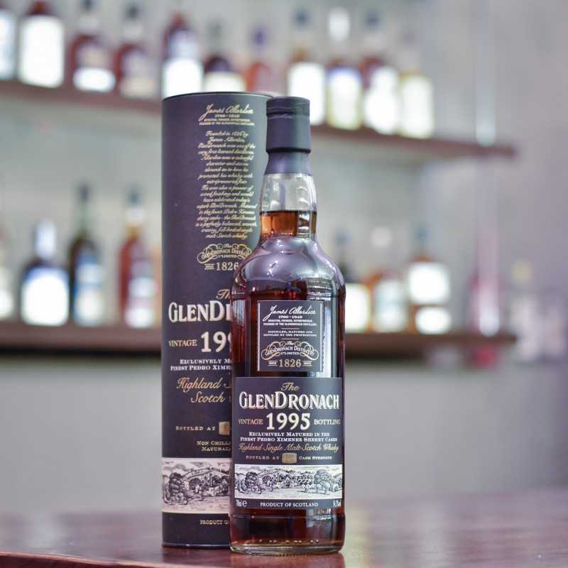Glendronach 18 Year Old 1995 PX Sherry Cask Strength