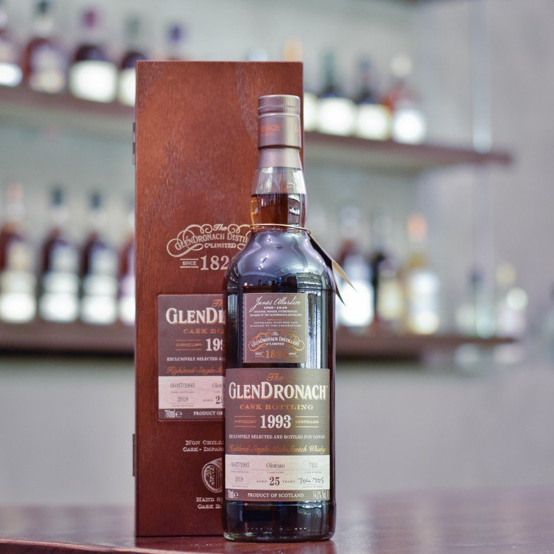 Glendronach 25 Year Old 1993 Taiwan Exclusive Cask 7431