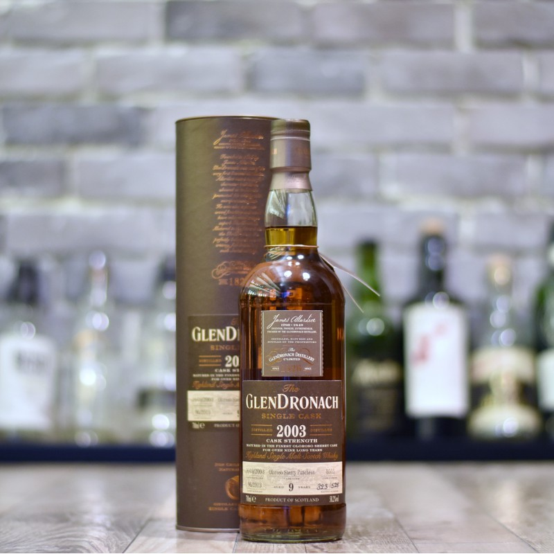 Glendronach 9 Year Old 2003 Cask 5555