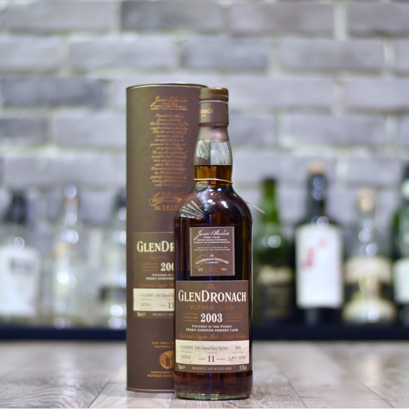 Glendronach 11 Year Old 2003 Cask 4006