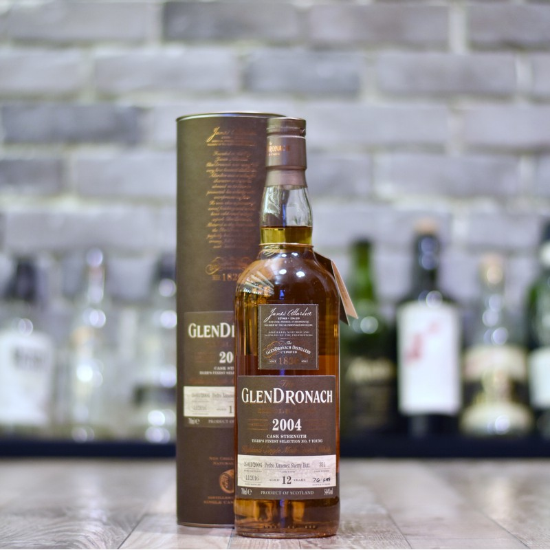 Glendronach 2004 12 Year Old Tiger's Finest Selection Cask 351