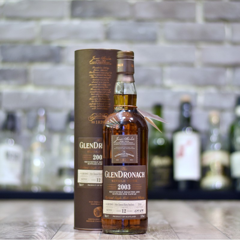 Glendronach 12 Year Old 2003 Taiwan Exclusive Cask 2330