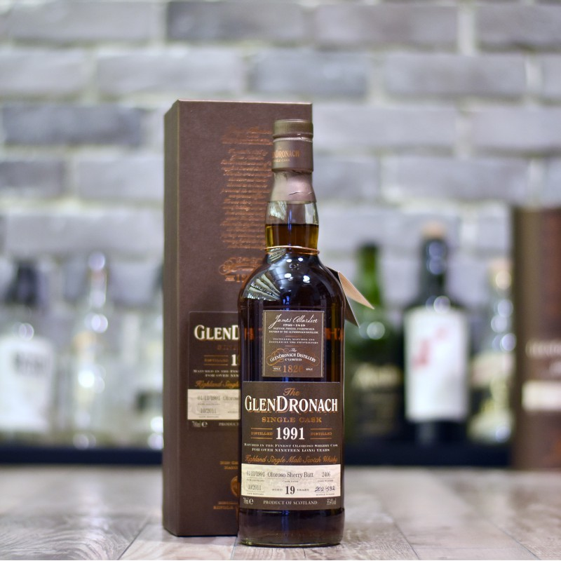 Glendronach 19 Year Old 1991 Cask 2406