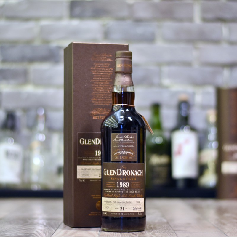 Glendronach 21 Year Old 1989 Cask 3314