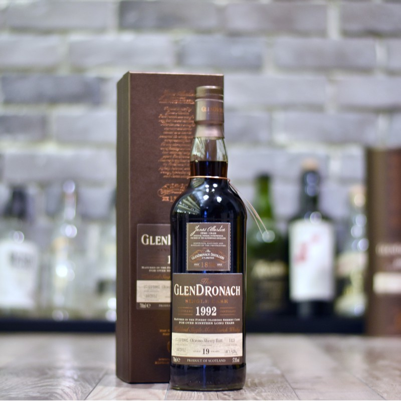 Glendronach 19 Year Old 1992 Cask 1123