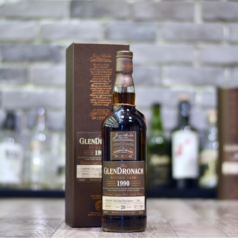 Glendronach 20 Year Old 1990 Cask 3068