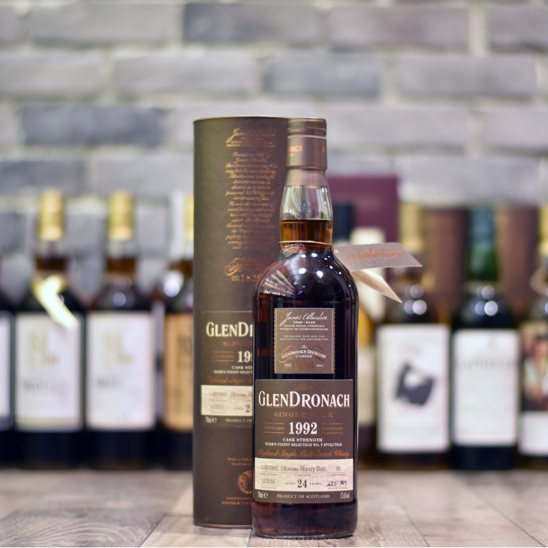 Glendronach 1992 For The Rare Malt x Tiger's Finest Selection 24 Year Old Cask 95