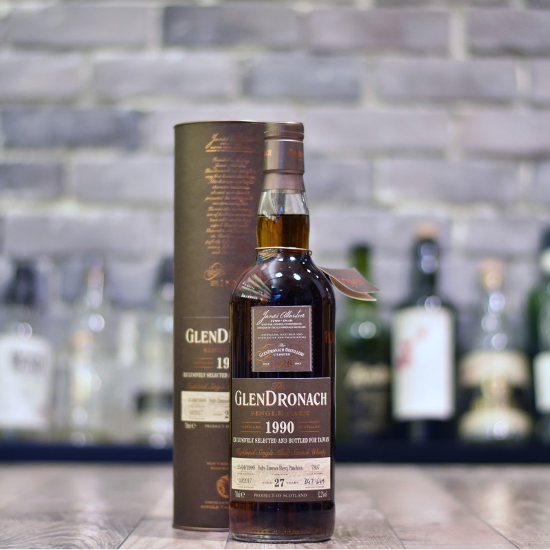 Glendronach 27 Year Old Taiwan Exclusive 1990 Cask 7897