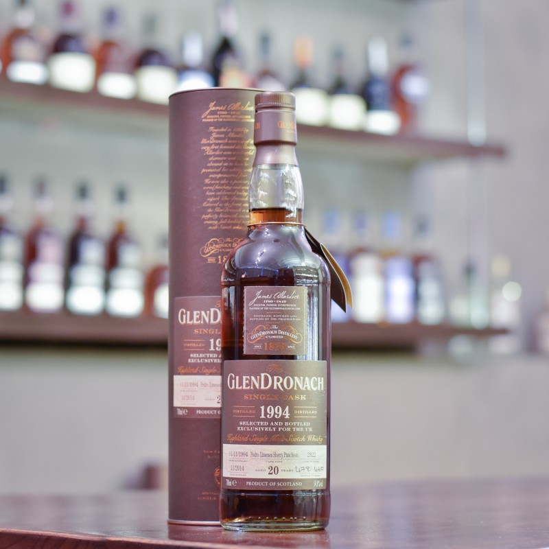 Glendronach 20 Year Old 1994 UK Exclusive Cask 2822
