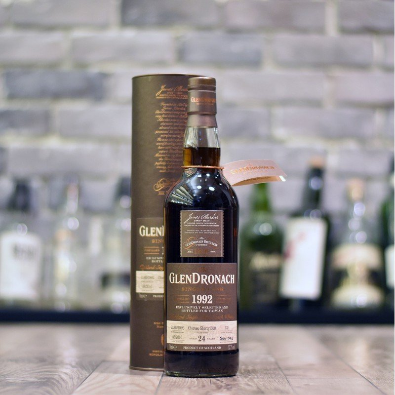Glendronach 24 Year Old 1992 Taiwan Exclusive Cask 132