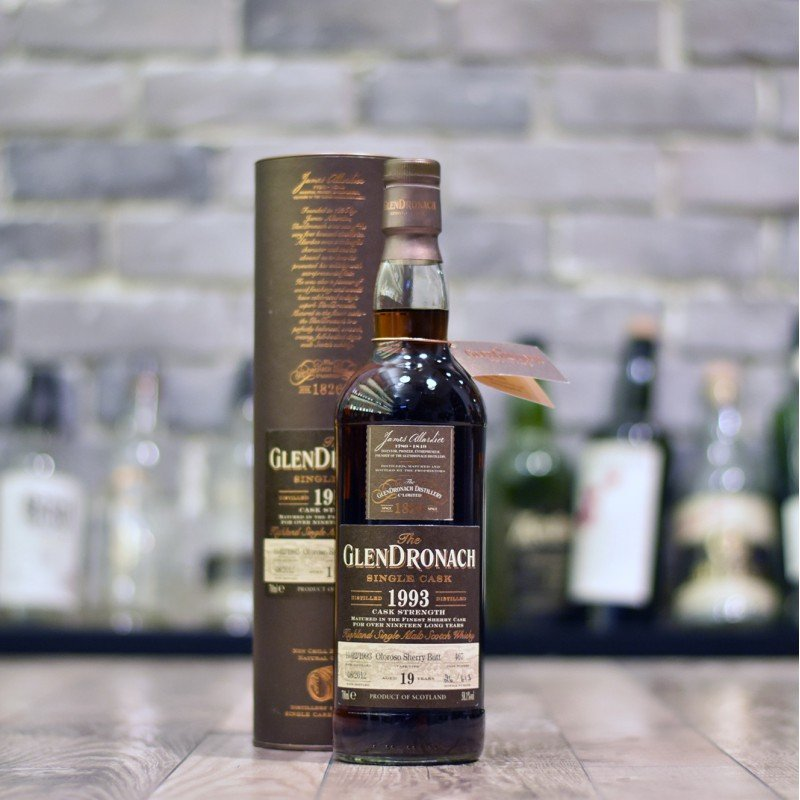 Glendronach 19 Year Old 1993 Cask 467 - For Tom
