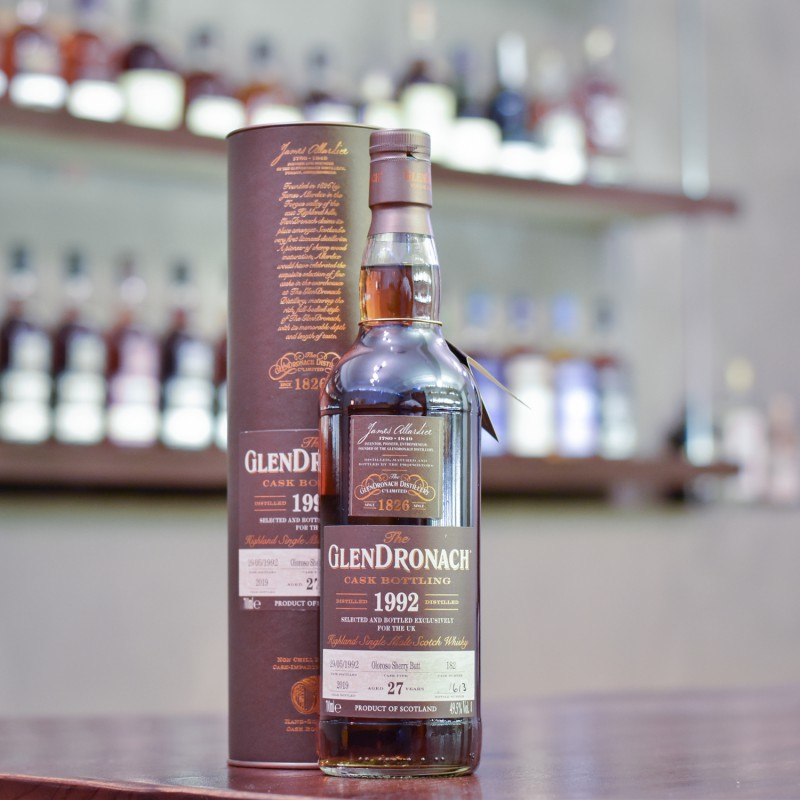 Glendronach 27 Year Old 1992 UK Exclusive Cask 182