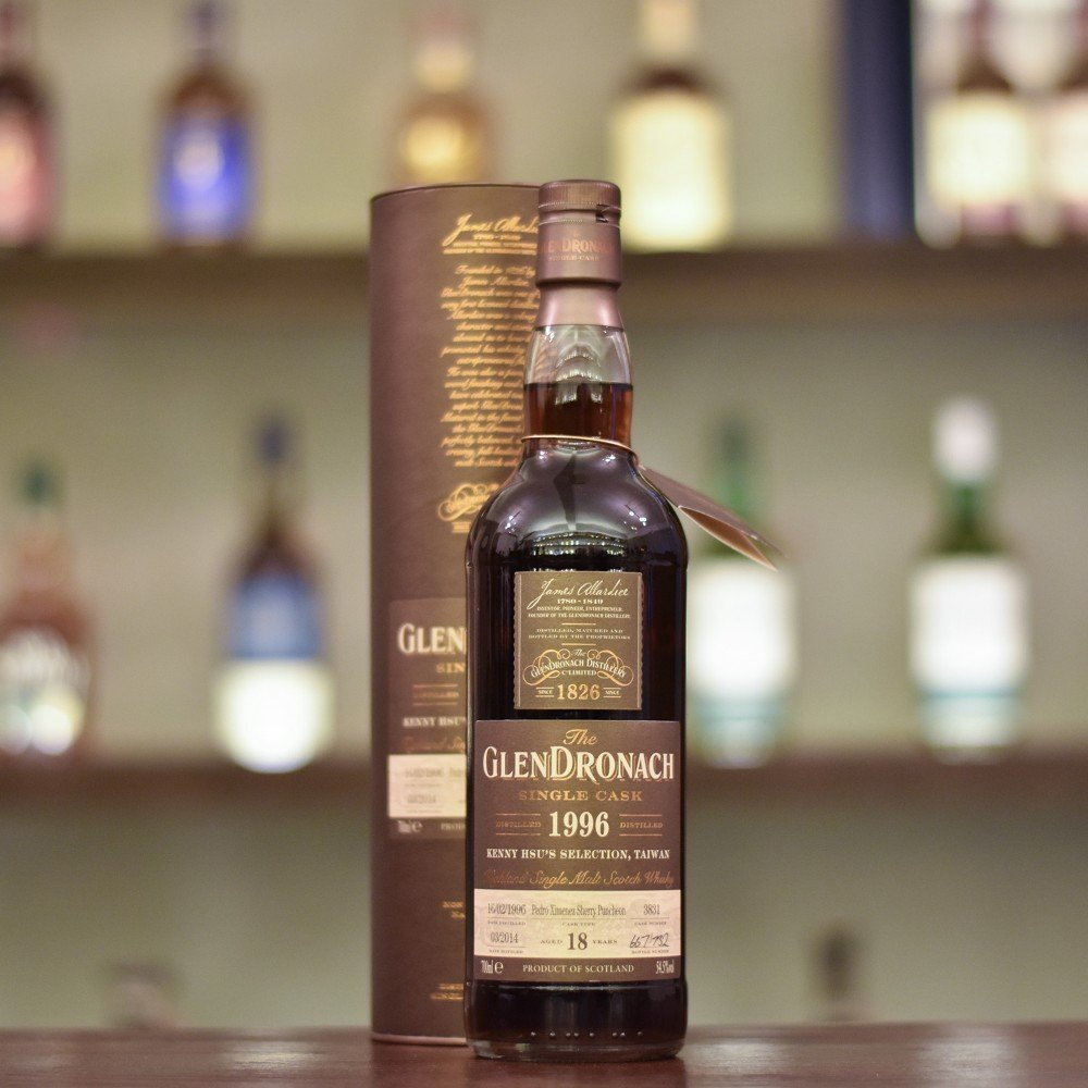 Glendronach 18 Year Old 1996 Kenny Hsu's Selection Cask 3831