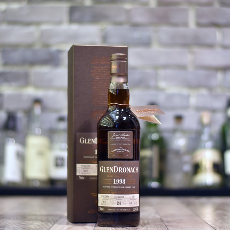 Glendronach 24 Year Old 1993 Batch 16 Cask 445