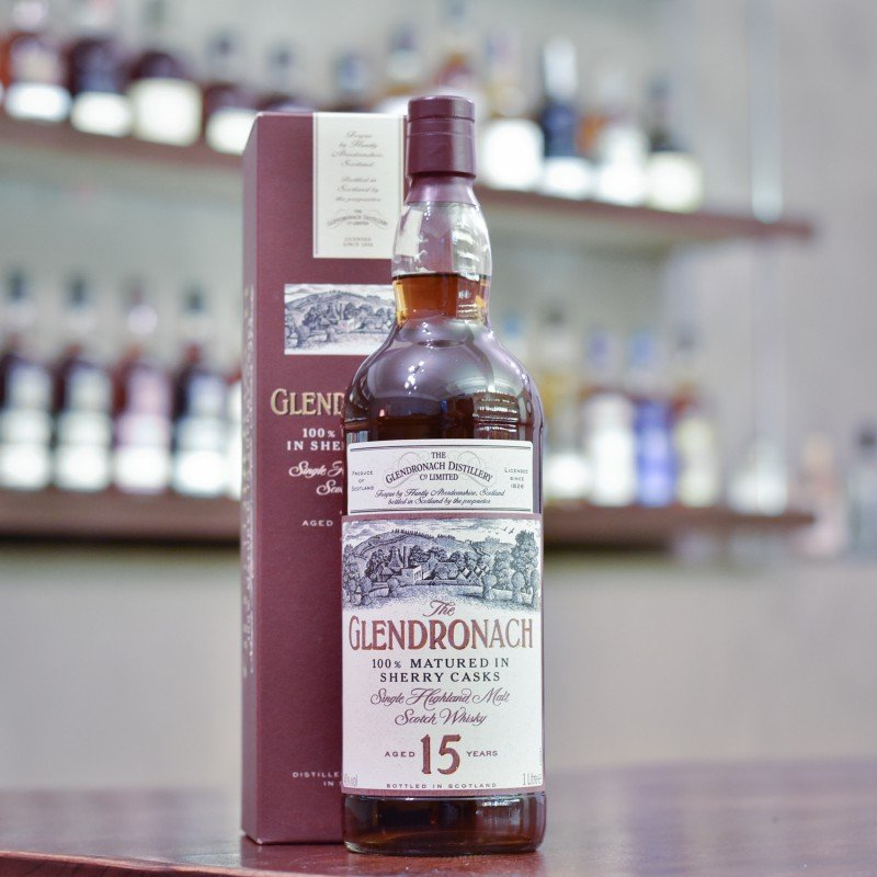 Glendronach 15 Year Old - 1990s Bottling 1L