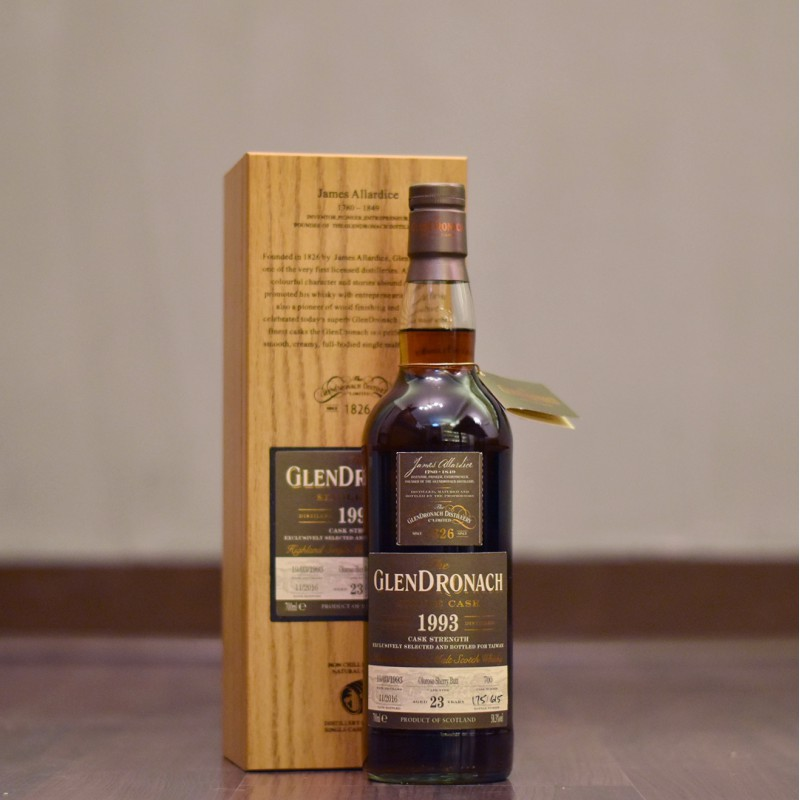 Glendronach 23 Year Old 1993 Taiwan Exclusive Cask 700