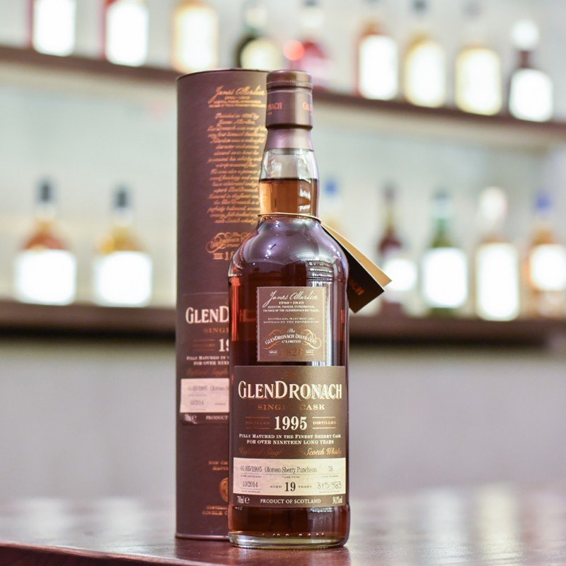 Glendronach 19 Year Old 1995 Cask 78