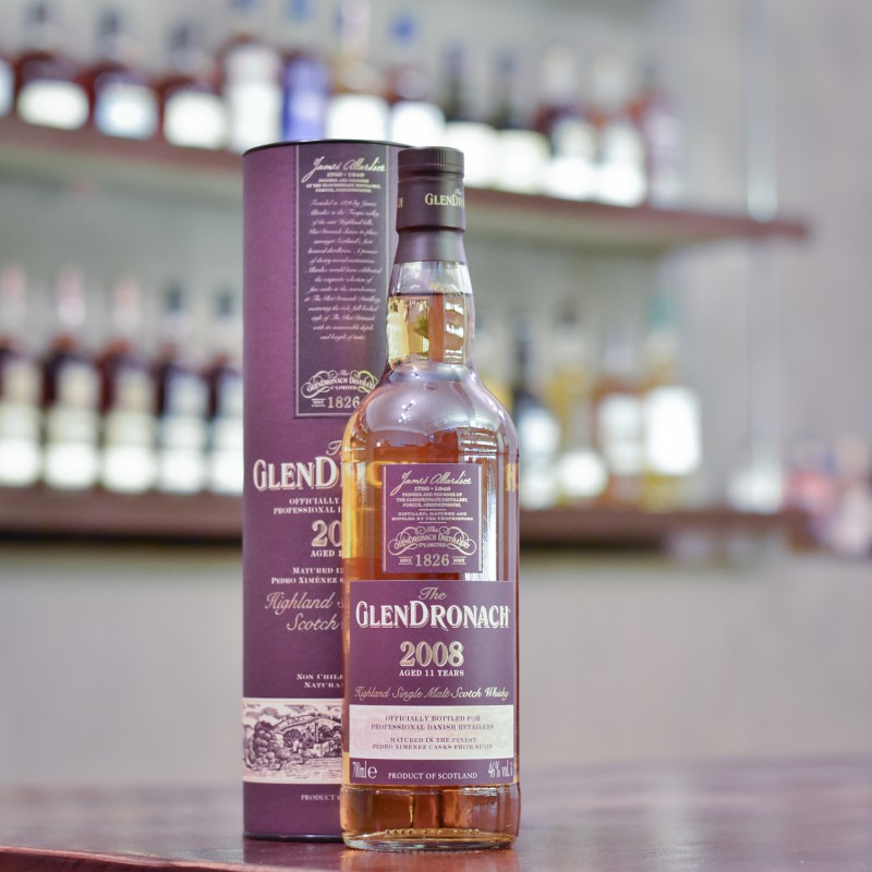 Glendronach 11 Year Old 2008 for Professional Danish Whisky Retailers