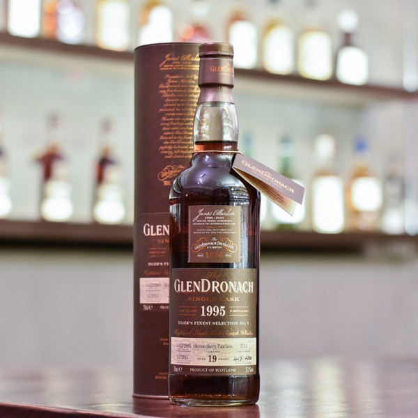 Glendronach 19 Year Old 1995 Tiger's Finest Selection Cask 1711