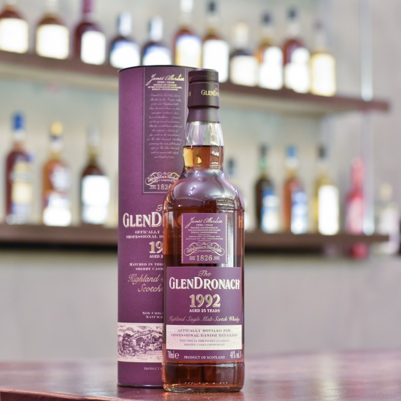 Glendronach 25 Year Old 1992 for Professional Danish Whisky Retailers