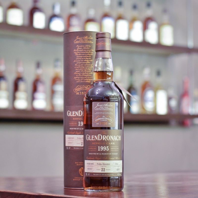 Glendronach 22 Year Old 1995 for LMdW Cask 3054