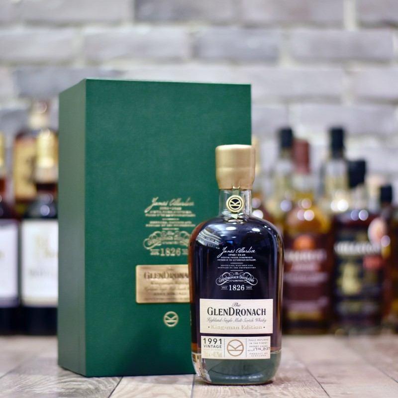 Glendronach 25 Year Old 1991 Kingsman Edition