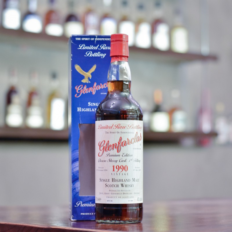 Glenfarclas 14 Year Old 1990 Premium Edition First-fill Oloroso Sherry Cask