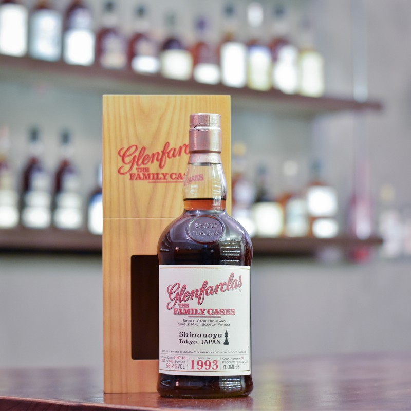 Glenfarclas 25 Year Old 1993 for Shinanoya Cask 80