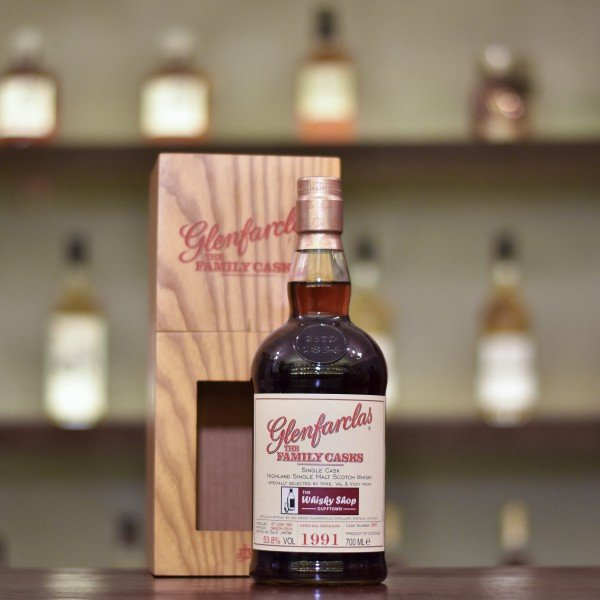 Glenfarclas 22 Year Old 1991 for The Whisky Shop Dufftown Cask 5691