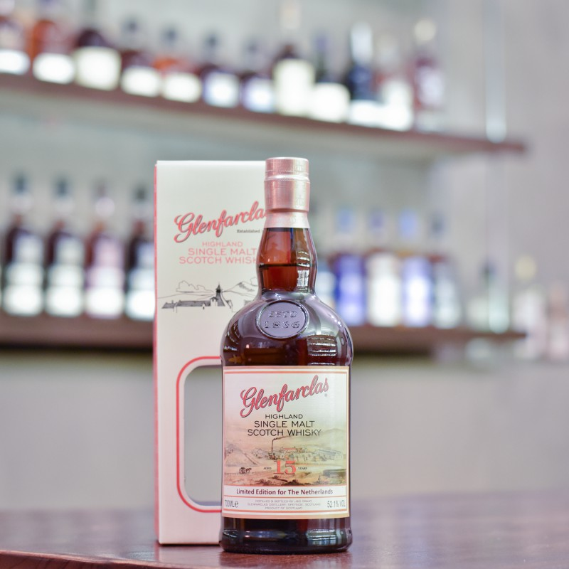 Glenfarclas 15 Year Old Cask Strength for The Netherlands