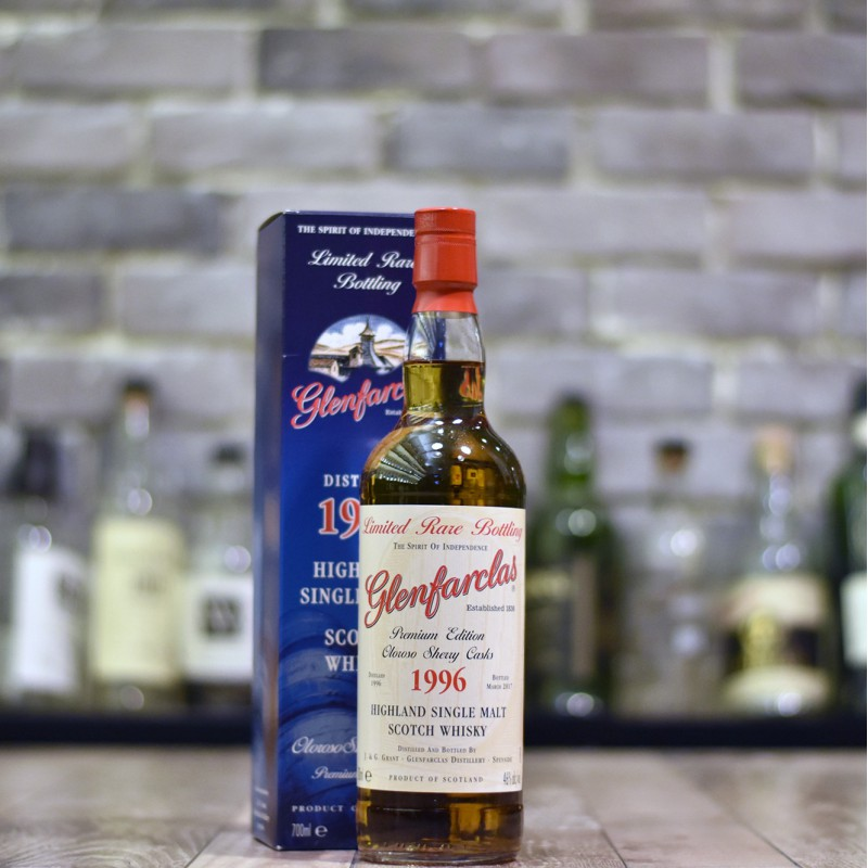 Glenfarclas 21 Year Old 1996 Oloroso Sherry Cask