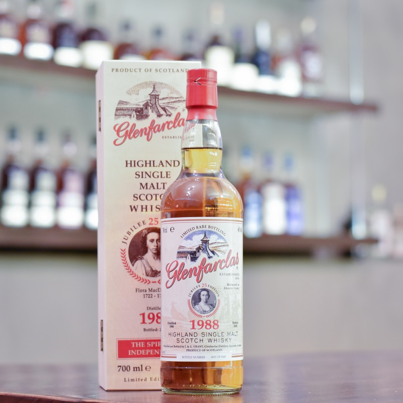 Glenfarclas 31 Year Old 1988 Edition No. 25 Flora MacDonald