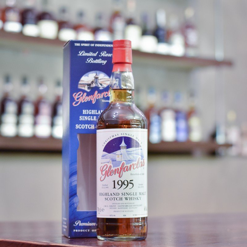 Glenfarclas 18 Year Old 1995 Christmas Single Malt Cask 6855-6861
