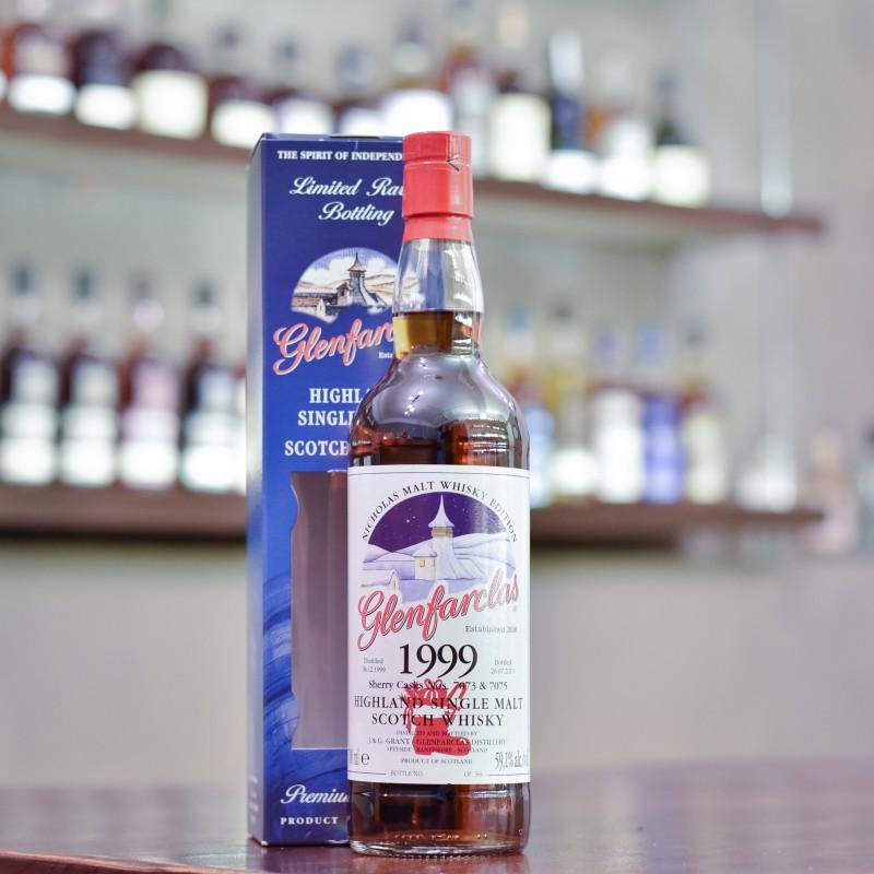 Glenfarclas 13 Year Old 1999 Nicholas Malt Whisky Edition Cask 7073 & 7075