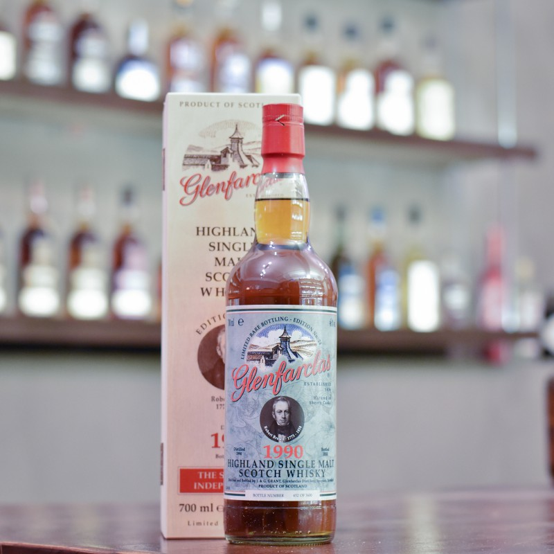 Glenfarclas 29 Year Old 1990 Edition No. 24 Robert Brown