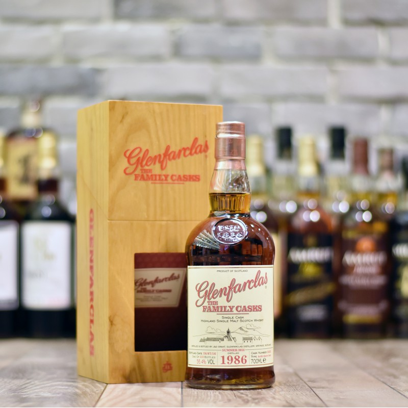 Glenfarclas 29 Year Old 1986 - Family Cask 3452