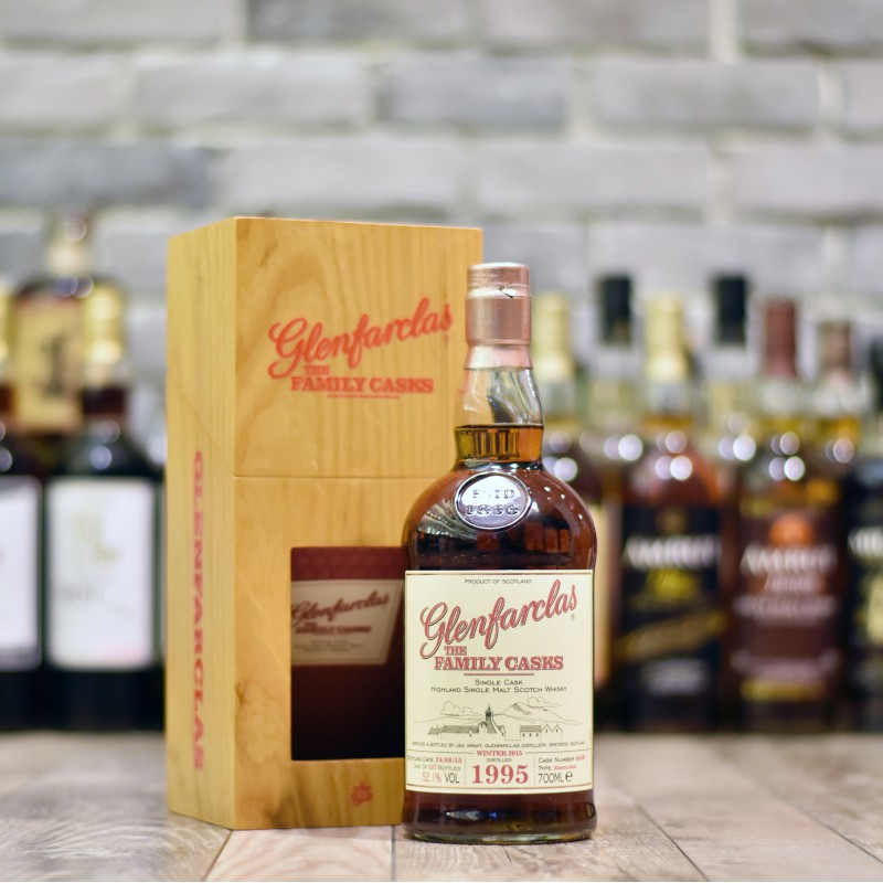 Glenfarclas 19 Year Old 1995 - Family Cask 6640