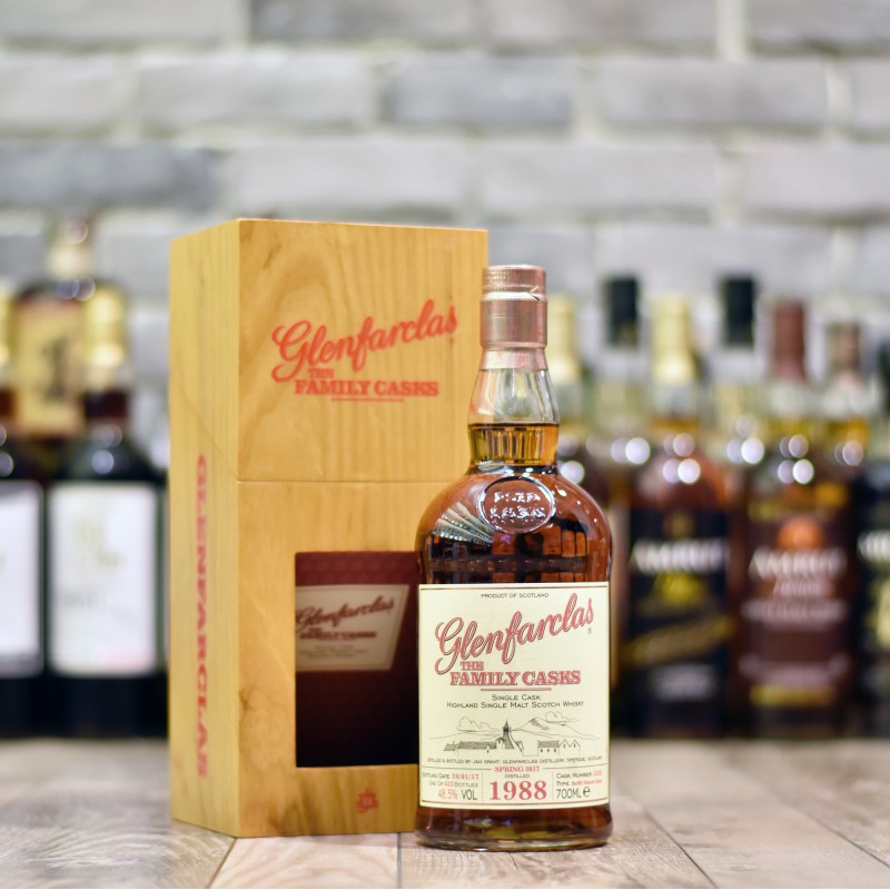 Glenfarclas 28 Year Old 1988 - Family Cask 1523