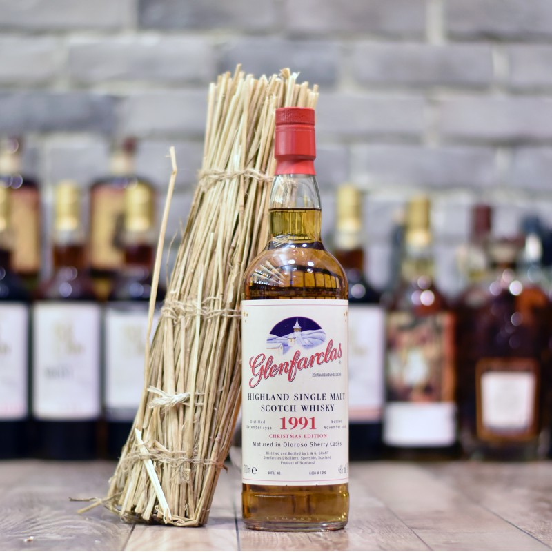 Glenfarclas 25 Year Old 1991 Christmas Malt 2016
