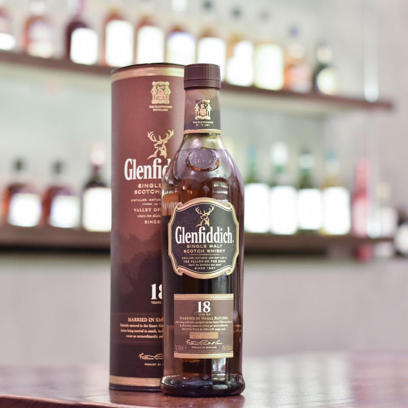 Glenfiddich 18 Year Old - Older Bottling