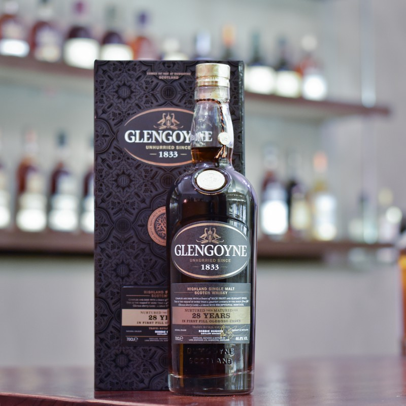 Glengoyne 28 Year Old First-fill Oloroso Sherry Casks