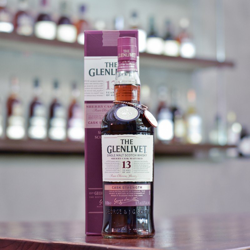Glenlivet 13 Year Old Cask Strength Sherry Cask Taiwan Exclusive