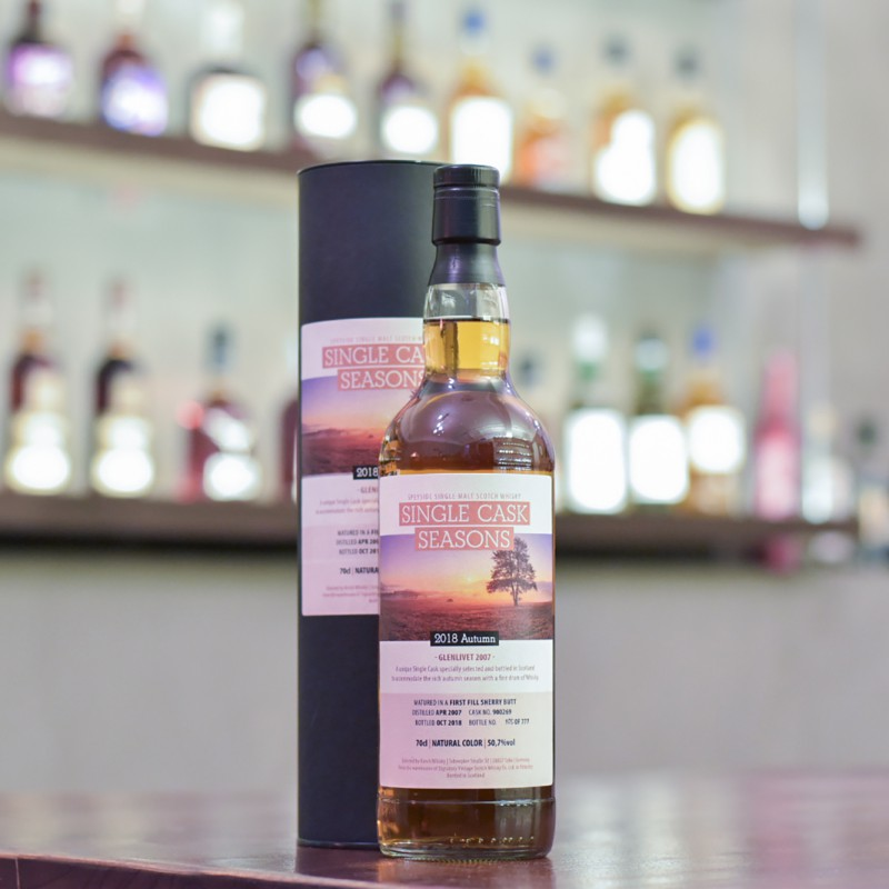 Signatory - Glenlivet 11 Year Old 2007 Single Cask Season Cask 900269