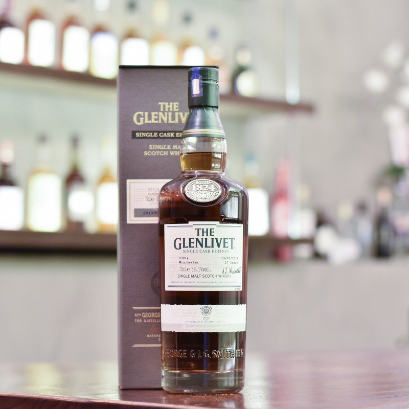 Glenlivet 17 Year Old for China Whisky Tribe Winchester Cask 83014