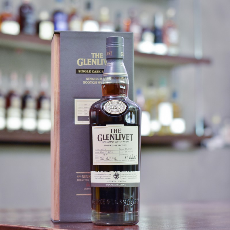 Glenlivet 16 Year Old Single Taiwan Exclusive Sherry Butt 16611
