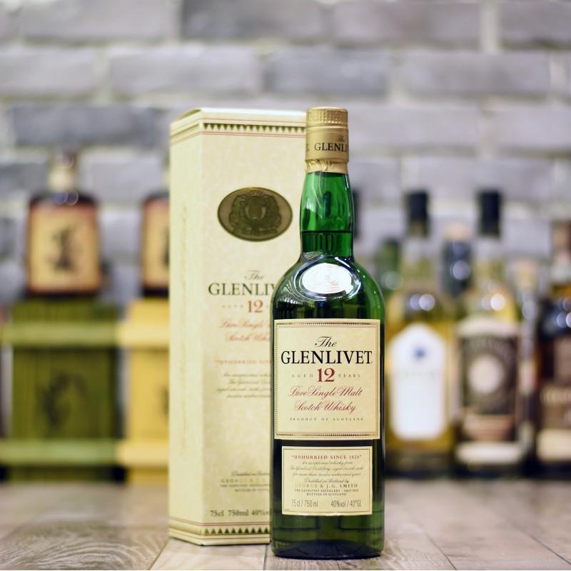 Glenlivet 12 Year Old - Older Bottling