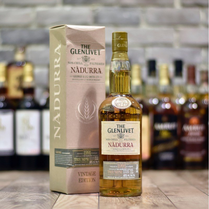 Glenlivet 18 Year Old 1991 Nadurra - Triumph Batch 0310B