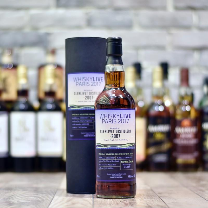 Signatory - Glenlivet 10 Year Old Whiskylive Paris 2017 Cask 900188